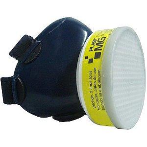 Respirador 1-4 Semi-facial Com um Filtro Plastcor