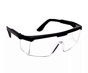 Óculos de Proteção Modelo Rj Incolor Plastcor