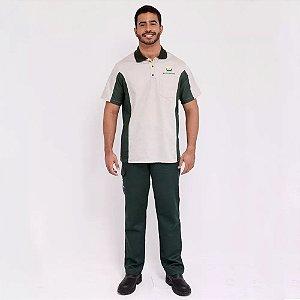 Br20 Uniforme Profissional Camisa Frentista Br Masculino Petrobras