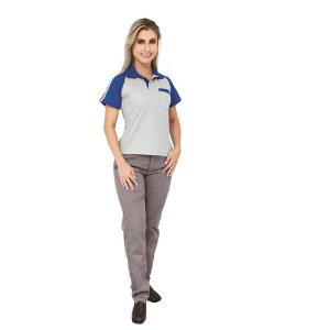 Farda Uniforme Profissional Camisa Comfort Feminina