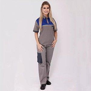 Farda Uniforme Profissional Unissex Camisa Front Line