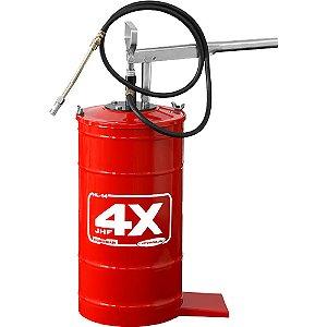 Bomba manual para Graxa com Reservatório até 14kg Hydronlubz