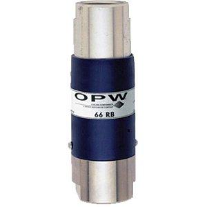 """Breakaway Válvula de Segurança Sem Extensão 1"""" Reconectável 66RB2000  OPW"""