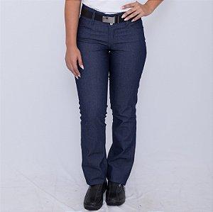 Calça Jeans Feminina Uniforme Farda Profissional Macrolub