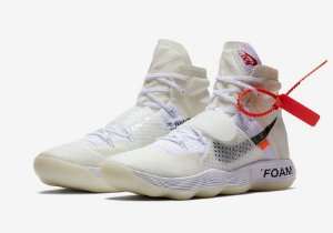 Nike React Hyperdunk 2017 Flyknit Off White
