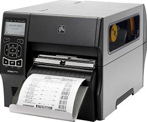 Impressora de Etiquetas Zebra ZT420 USB, Serial, Ethernet e Bluetooth com cutter EM ESTOQUE