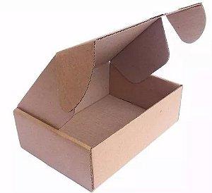 200 Caixas Correios para E-Commerce - Papelão Pardo - 26x17x8,5 cm - 2mm - Capa Simples