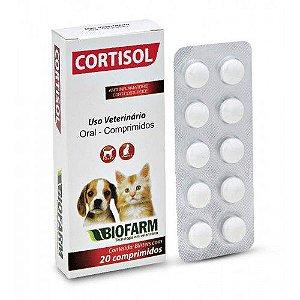 Anti-inflamatório Cortisol C/ 20 Comp. - Biofarm