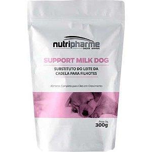 Suplemento Vitamínico Nutripharme Support Milk Dog para Cães Filhotes