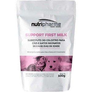 Suplemento Vitamínico Nutripharme Support First Milk para Cães e Gatos 100g