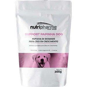 Suplemento Vitamínico Nutripharme Support Papinha de Desmame para Cães
