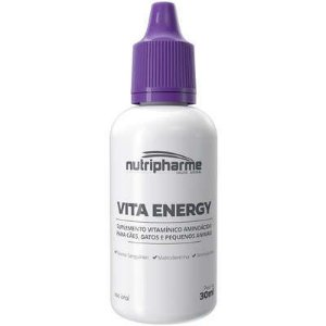 Suplemento Vitamínico Aminoácido Vita Energy para Cães e Gatos 30ml