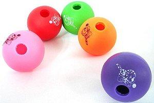 Brinquedo Bola de Adestramento para Cães P - Cores Sortidas
