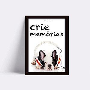 Quadro Crie Memórias