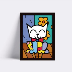 Quadro Cat Collor