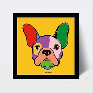 Quadro Bulldog Collor