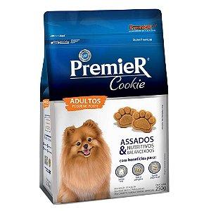 Biscoito Premier Pet Cookie para Cães Adultos Raças Pequenas 250 G