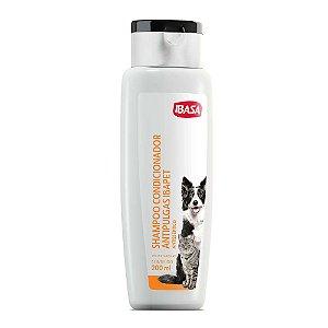 Shampoo e Condicionador Ibasa Antipulgas Ibapet 200 ML