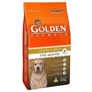 Ração Premier Golden Formula Cães Adultos Salmão e Arroz