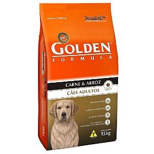 Ração Premier Golden Formula Cães Adultos Carne e Arroz