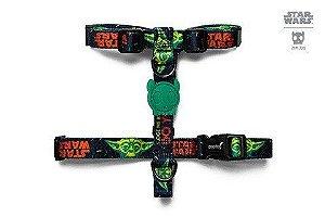 Peitoral para Cachorros H Star Wars Yoda