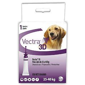 Antipulgas e Carrapatos Ceva Vectra 3D para Cães de 25 a 40 Kg 4,7ml