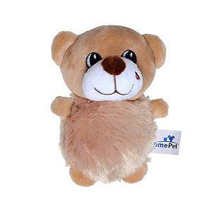 Brinquedo Jolitex Homepet Ursinho de Pelúcia