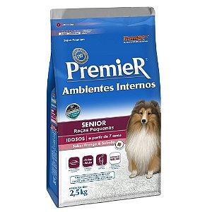Ração Premier Pet Ambientes Internos Cães Sênior