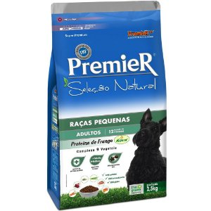 Ração Premier Seleção Natural para Cães Adultos de Raças Pequenas