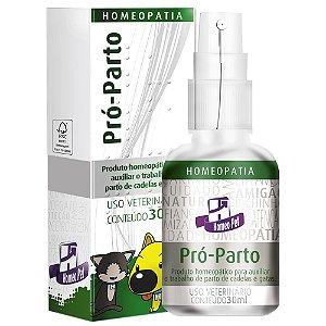 Sistema de Terapia Homeopet Auxílio ao Parto Pró-Parto - 30 mL