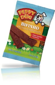 Bifinho Peppy Dog Frango Grelhado 65g