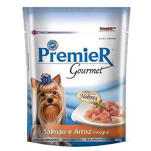 Premier Pet Gourmet Sachê Salmão para Cães Adultos 100g