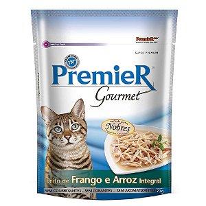 Premier Pet Gourmet Sachê Frango para Gatos Adultos 70g