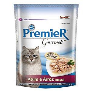 Premier Pet Gourmet Sachê Atum para Gatos Adultos 70g