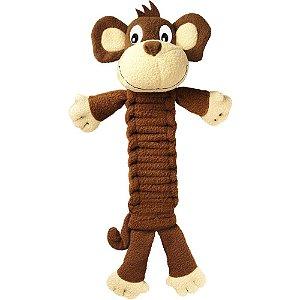 Brinquedo KONG Bendeez Monkey Marrom