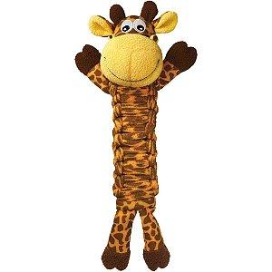 Brinquedo KONG Bendeez Giraffe Amarelo