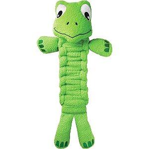 Brinquedo KONG Bendeez Turtle Verde
