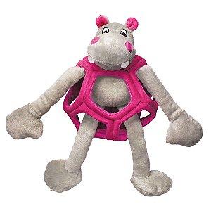 Brinquedo KONG Puzzlements Hippo RPZ para Cães