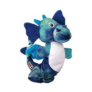 Brinquedo KONG Assorted Dragon Knots Azul para Cães