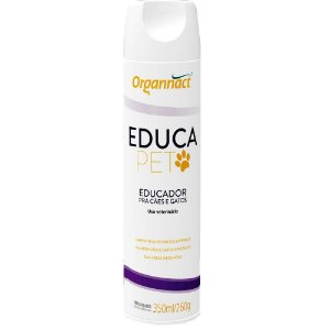Educador Organnact Educa Pet Aerossol para Cães e Gatos