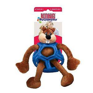 Brinquedo KONG Puzzlements Beaver RPZ para Cães