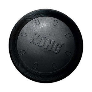 Brinquedo KONG Extreme Disco Flexível Flyer Preto