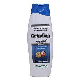 Cetodine - Shampoo Antifúngico e Antibacterian