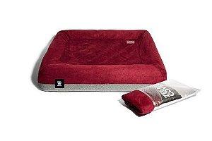 Capa de cama ZEE.BED Bordô