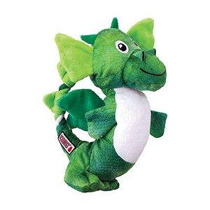 Brinquedo KONG Assorted Dragon Knots Verde para Cães