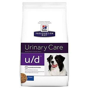 Ração Hills Prescription Diet Canine U/D Problemas Trato Urinário - 3,8 Kg