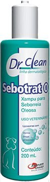 Shampoo Dr Clean Sebotrat O Agener União 200ml