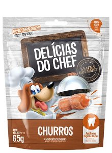 Delícias do Chef Sabor Churros 65g