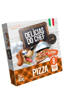 Delícias do Chef pizza sabor Frango 40g