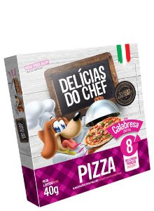 Delícias do Chef pizza sabor Calabresa 40g